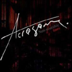 Non Pourable Lines - CD Audio di Acrosome