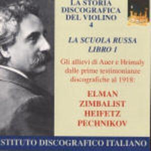 La scuola russa di violino libro 1 - CD Audio