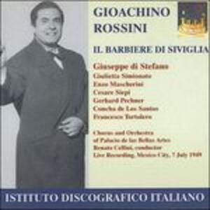 Il barbiere di Siviglia - CD Audio di Gioachino Rossini,Giuseppe Di Stefano,Giulietta Simionato,Renato Cellini