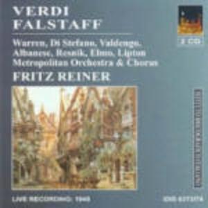 Falstaff - CD Audio di Giuseppe Verdi,Fritz Reiner,Metropolitan Orchestra