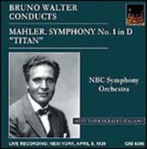 Sinfonia n.1 - CD Audio di Gustav Mahler,Bruno Walter,NBC Symphony Orchestra