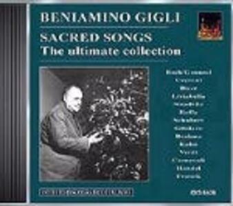 Canti sacri 1932-1954 - CD Audio di Beniamino Gigli