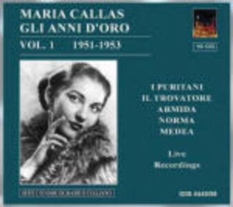 Gli anni d'oro vol.1 1951-1953 - CD Audio di Maria Callas