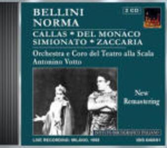 Norma - CD Audio di Vincenzo Bellini,Maria Callas,Mario Del Monaco,Giulietta Simionato,Mara Zampieri,Orchestra del Teatro alla Scala di Milano,Antonino Votto