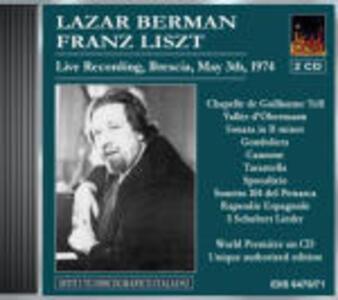 Lazar Berman suona Liszt - CD Audio di Franz Liszt,Lazar Berman