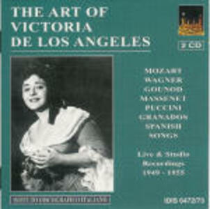 The Art of Victoria De Los Angeles - CD Audio di Victoria De Los Angeles