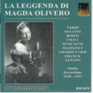 La leggenda di Magda Olivero - CD Audio di Magda Olivero