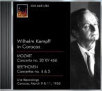 Kempff a Caracas 1956 - CD Audio di Wilhelm Kempff