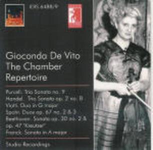 Chamber Repertoire - CD Audio di Gioconda De Vito