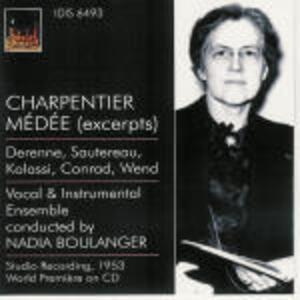 Médée - CD Audio di Marc-Antoine Charpentier,Nadia Boulanger