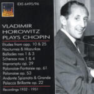 Musica per pianoforte - CD Audio di Fryderyk Franciszek Chopin,Vladimir Horowitz