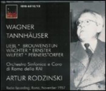 Tannhäuser - CD Audio di Richard Wagner,Artur Rodzinski,Orchestra Sinfonica RAI di Roma