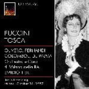 Tosca - CD Audio di Giacomo Puccini,Eugenio Fernandi,Magda Olivero,Orchestra Sinfonica RAI di Milano,Emidio Tieri