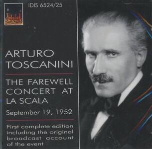 Il concerto d'addio alla Scala - CD Audio di Richard Wagner,Arturo Toscanini,Orchestra del Teatro alla Scala di Milano