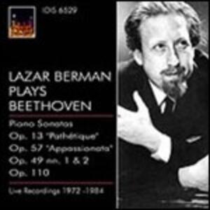 Sonate per pianoforte n.23, n.19, n.20, n.8, n.31 - CD Audio di Ludwig van Beethoven,Lazar Berman