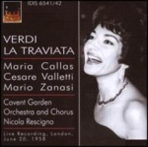 La Traviata - CD Audio di Maria Callas,Cesare Valletti,Giuseppe Verdi,Nicola Rescigno,Covent Garden Orchestra