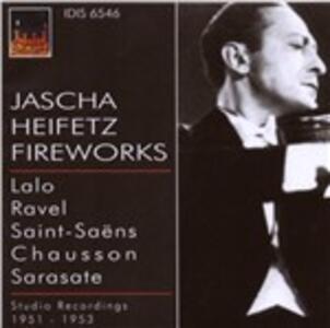 Fuochi d'artificio - CD Audio di Jascha Heifetz,Los Angeles Philharmonic Orchestra,RCA Victor Symphony Orchestra,William Steinberg,Alfred Wallenstein,Izler Solomon