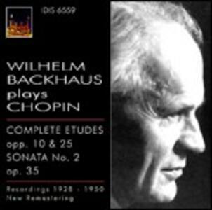 Studi - Sonata n.2 - CD Audio di Fryderyk Franciszek Chopin,Wilhelm Backhaus