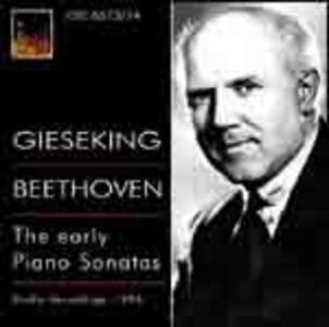 Sonate per pianoforte n.1, n.2, n.3 ,n.4, n.5, n.6, n.7, n.8 - CD Audio di Ludwig van Beethoven,Walter Gieseking
