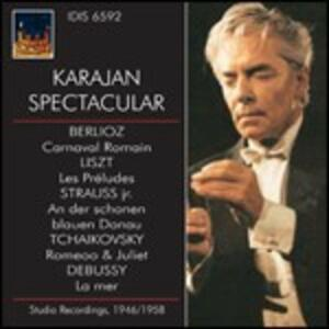 Karajan Spectacular - CD Audio di Herbert Von Karajan,Wiener Philharmoniker,Philharmonia Orchestra