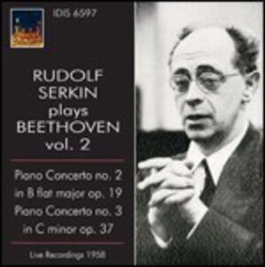 Concerti per pianoforte n.2, n.3 - CD Audio di Ludwig van Beethoven,Rudolf Serkin,Franco Caracciolo,Orchestra Alessandro Scarlatti di Napoli