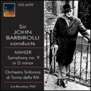 Sinfonia n.9 - CD Audio di Gustav Mahler,Sir John Barbirolli,Orchestra Sinfonica RAI di Torino