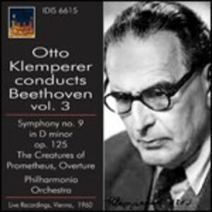 Sinfonia n.9 - Le creature di Prometeo - CD Audio di Ludwig van Beethoven,Otto Klemperer,Philharmonia Orchestra