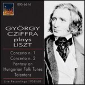 Gyorgy Cziffra Plays Liszt - CD Audio di Franz Liszt,György Cziffra