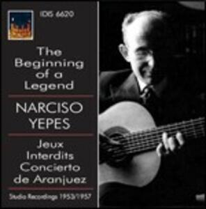 The Beginning of a Legend - CD Audio di Narciso Yepes