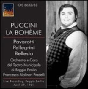 La Bohème - CD Audio di Luciano Pavarotti,Giacomo Puccini,Francesco Molinari-Pradelli
