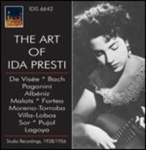 The Art of Ida Presti - CD Audio di Ida Presti