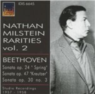Rarities vol.2 - CD Audio di Ludwig van Beethoven,Nathan Milstein