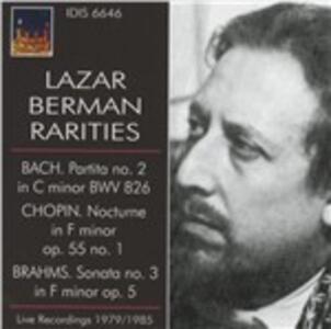 Rarities - CD Audio di Lazar Berman