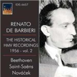 The Historical HMV Recordings 1956 vol.2 - CD Audio di Camille Saint-Saëns,Ottokar Novacek,Renato De Barbieri,Beethoven Orchester Bonn