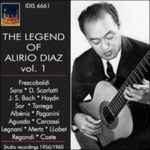 The Legend of Alirio Diaz. Recordings 1956-60 - CD Audio di Alirio Diaz