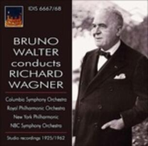 Bruno Walter dirige Wagner - CD Audio di Richard Wagner,Bruno Walter,New York Philharmonic Orchestra,Columbia Symphony Orchestra,Royal Philharmonic Orchestra,NBC Symphony Orchestra