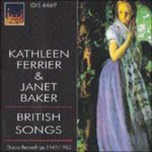 Canzoni inglesi - CD Audio di Kathleen Ferrier,Dame Janet Baker