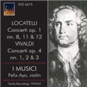 Concerti - CD Audio di Antonio Vivaldi,Pietro Locatelli,Musici