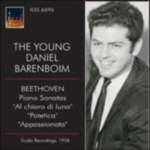 Sonate per Pianoforte N.14, N.8, N.23 - CD Audio di Ludwig van Beethoven,Daniel Barenboim