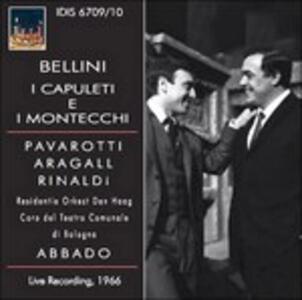 I Capuleti e i Montecchi - CD Audio di Vincenzo Bellini,Luciano Pavarotti,Margherita Rinaldi,Orchestra del Teatro Comunale di Bologna
