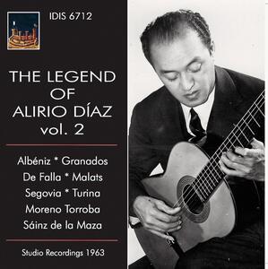 The Legend of Alirio Diaz vol.2 - CD Audio di Isaac Albéniz,Alirio Diaz