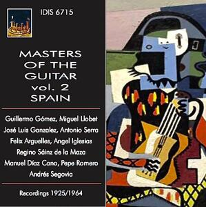 Spain. Masters of the Guitar vol.2 - CD Audio di Guillermo Gomez