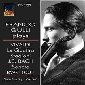 Franco Gulli suona Vivaldi e Bach - CD Audio di Antonio Vivaldi,Aldo Ceccato,Franco Gulli