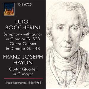 Boccherini e Haydn - CD Audio di Luigi Boccherini,Umberto Cattini