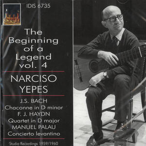 The Beginning of a Legend vol.4 - CD Audio di Narciso Yepes
