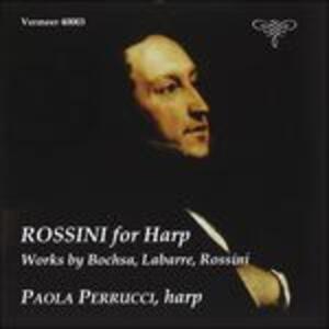Arrangiamenti per Arpa - CD Audio di Gioachino Rossini