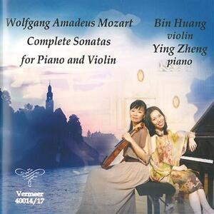 Sonate complete per violino e pianoforte - CD Audio di Wolfgang Amadeus Mozart,Bin Huang