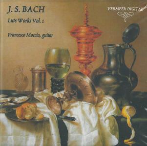 Musica per liuto vol.1 - CD Audio di Johann Sebastian Bach,Francesco Moccia