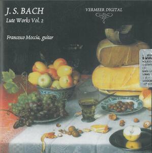 Musica per liuto vol.2 - CD Audio di Johann Sebastian Bach,Francesco Moccia