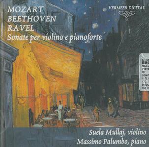 Sonate per violino e pianoforte - CD Audio di Wolfgang Amadeus Mozart,Suela Mullaj